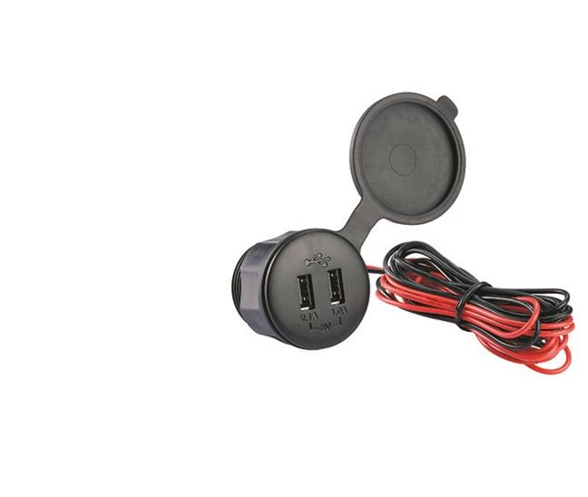 Hedendaags USB Poorten : Hollex USB Lader Dubbele Aansluiting Waterdicht TR-92