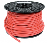 Accukabel Volle Rol 50M 16mm2 Rood