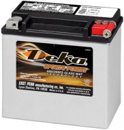 Deka AGM CTX20L-BS Powersport 18Ah