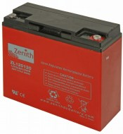 Zenith AGM Deep cycle accu 22 ampere 12 volt